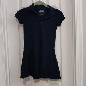 Girls Navy dress used as school uniform